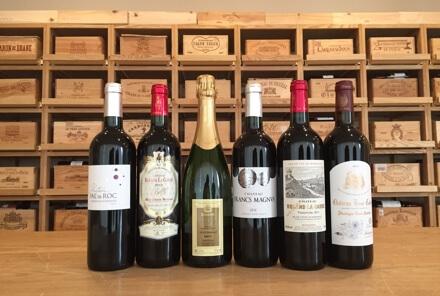 6種のボルドーワイン試飲販売会&プチセミナー