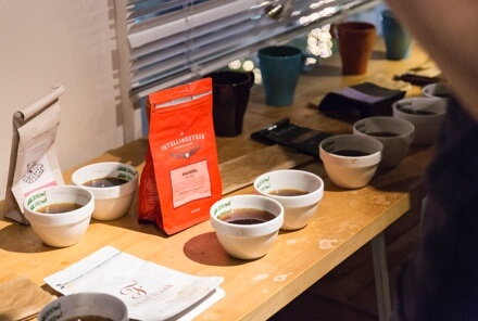 PUBLIC CUPPING in COFFEE COLLECTION